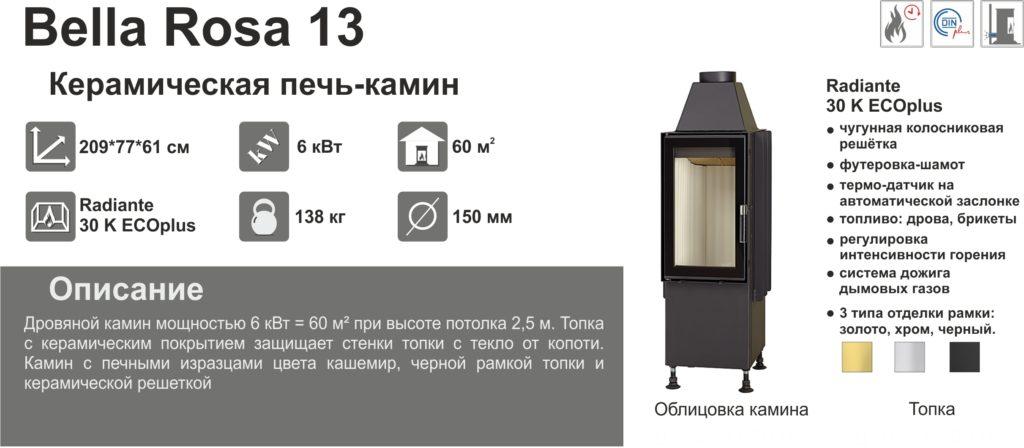 Изразцовая печь-камин Hark Bella Rosa 13 13 2 1024x4481 1 - Камины HARK